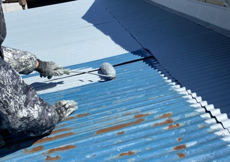 小山市 屋根塗装工事