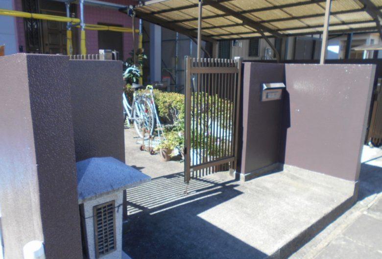 栃木市,外壁塗装/塀塗装工事